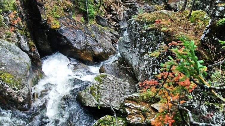 Горная река Жигалан