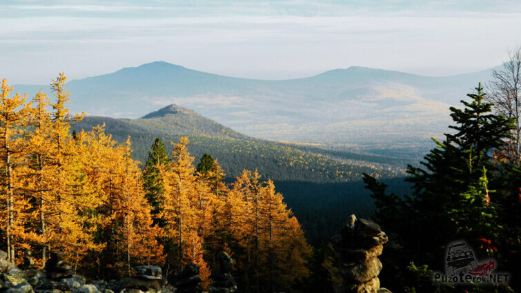 Осень на Иовском плато