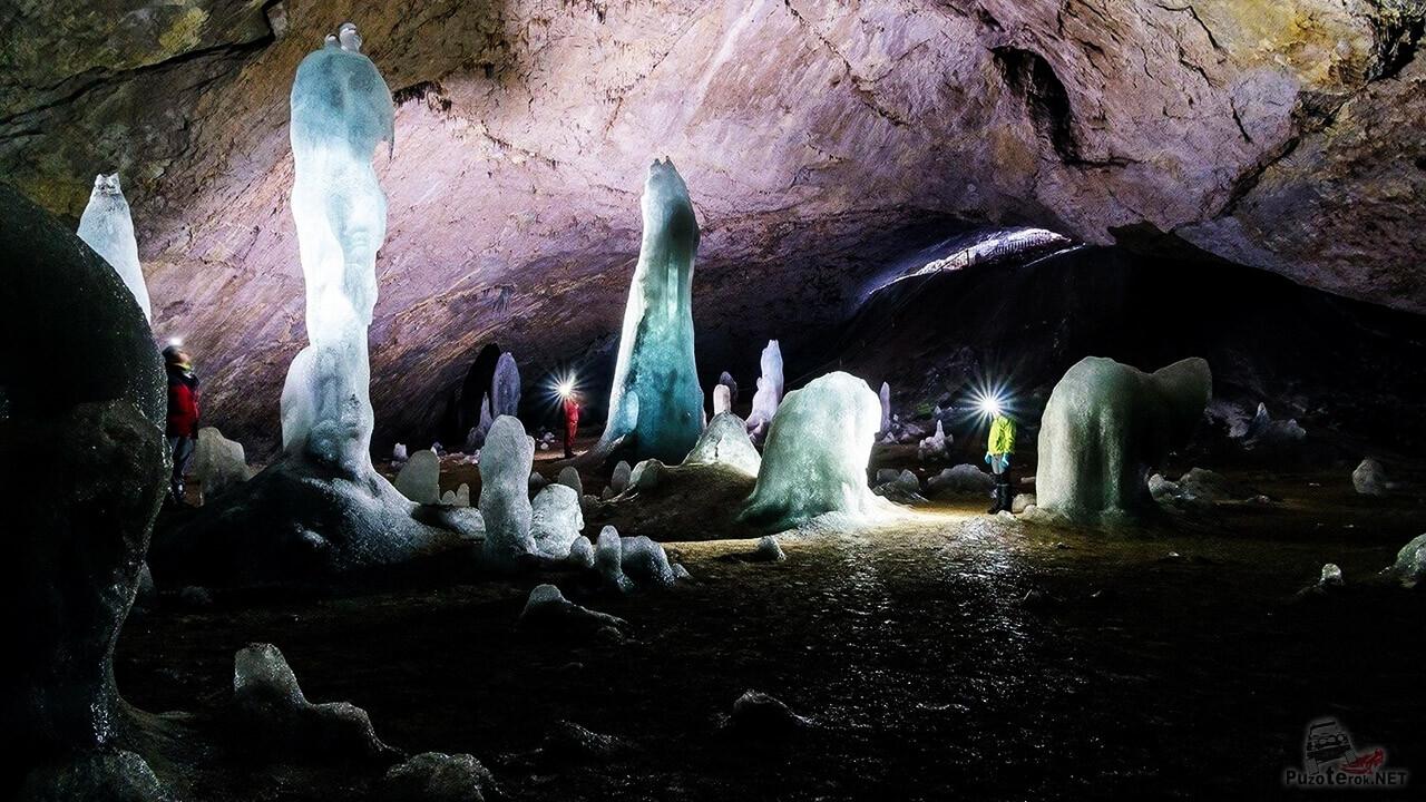 Аскинская ледяная пещера (30 фото)