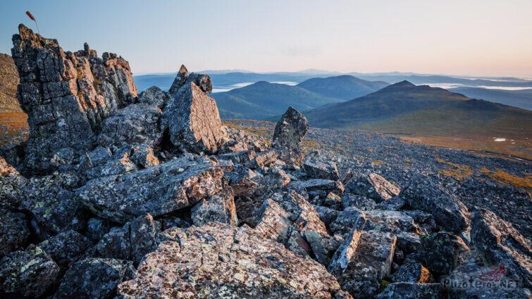 Панорама Северного Урала