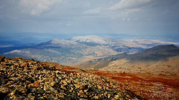 Панорама высокогорной тундры