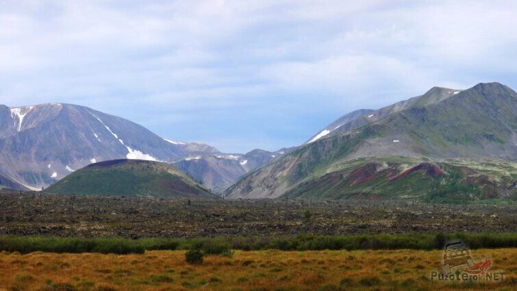 Потухшие вулканы Кропоткина и Перетолчина