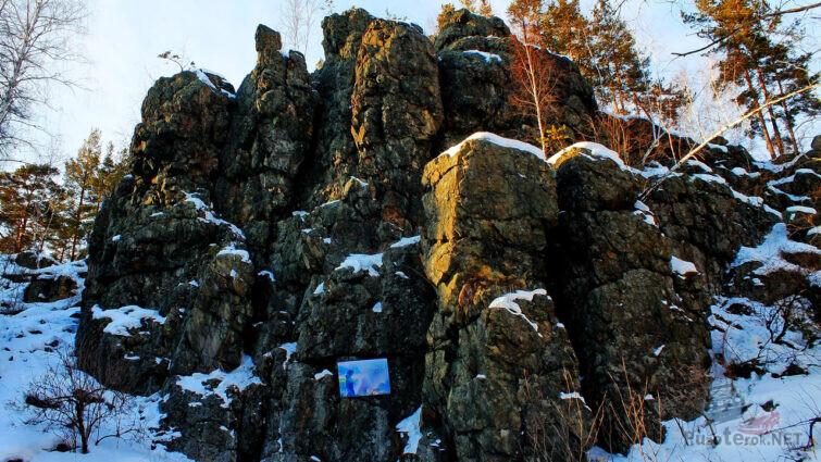 Рисунок поклонника Бажова и Хозяйки медной горы