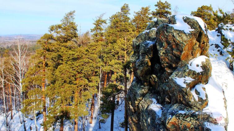 Скалы на горе Азов природно-исторический памятник природы