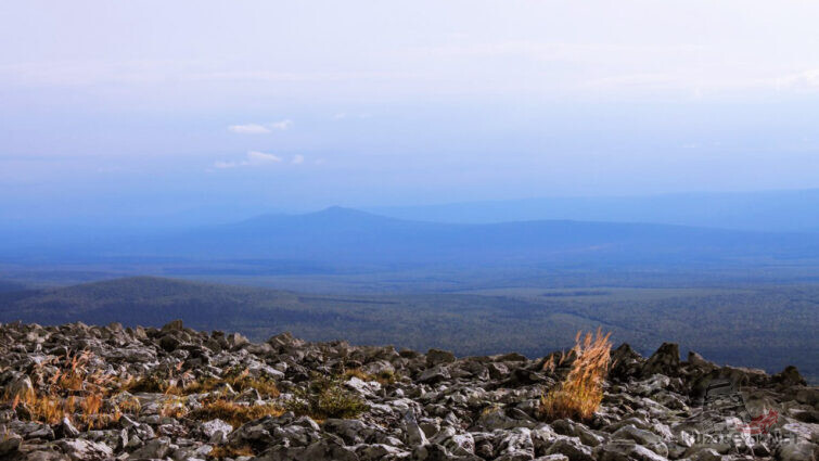 Зима на плато Кваркуш
