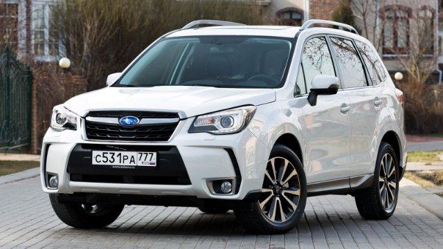Прекрасный Subaru Forester четвертого поколения