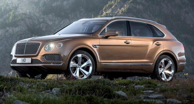 Bentley планирует продавать по 3000 внедорожников в год
