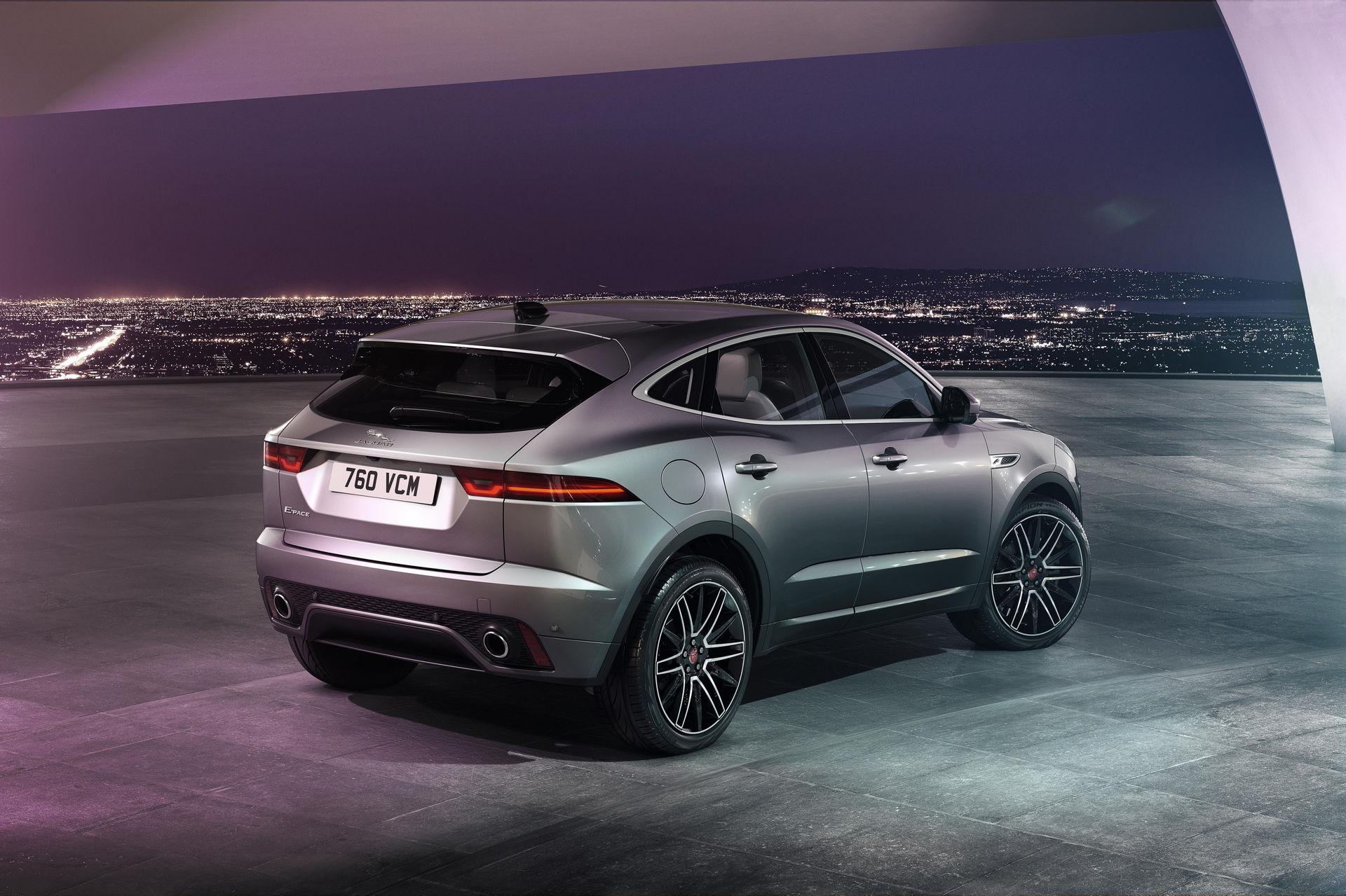 Крутейший новый jaguar e-pace и его возможности