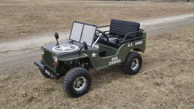 Уникальный Meep - от MINI и Jeep