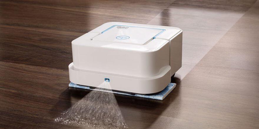 Робот пылесос для сухой и влажной уборки