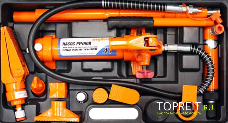 Инструменты для ремонта кузова