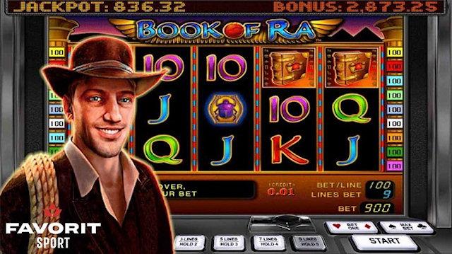 Игровой автомат Book of ra в онлайн казино Фаворит – популярный слот в проверенном клубе