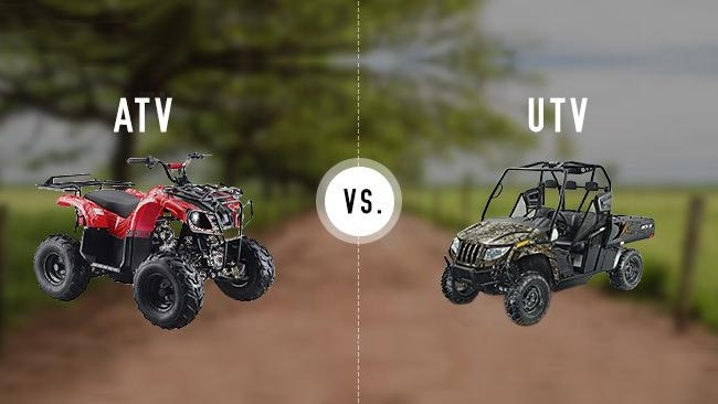 ATV и UTV: В чем разница?