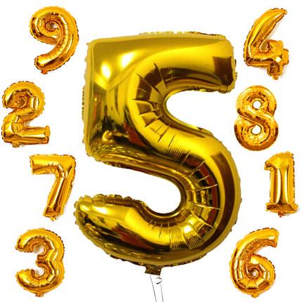 Идеальные шары цифры для вашего праздника