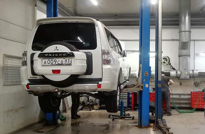 Качественное ТО и ремонт Mitsubishi Pajero в Москве